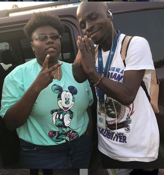 Teni Gets Artwork Gift From Physically Challenged Artist