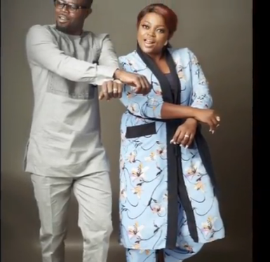 Funke Akindele and Husband