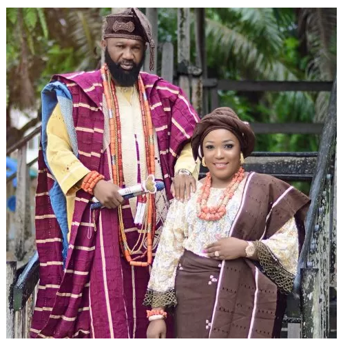 Goriola Hassan and his woman