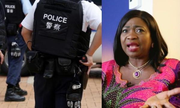 Abike Dabiri and China Police