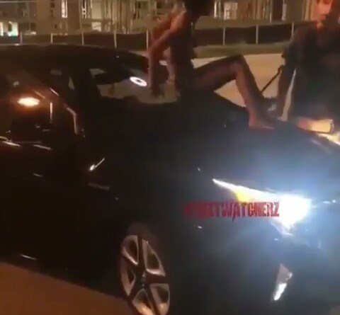 The drunk female passenger and the uber driver
