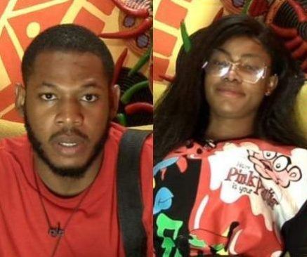 BBNaija Housemates Frodd And Tacha