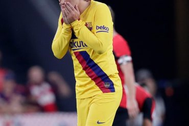 Fans Mock Barcelona Following Defeat Atlectico Bilbao Despite Signing Antoine Griezman