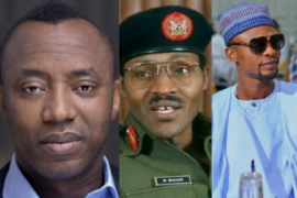 Sowore, Buhari and I GO Dye