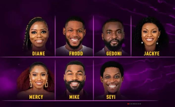 All the nominated housemates