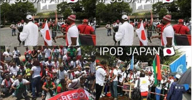 IPOB Members in Japan