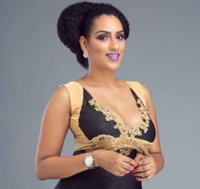 juliet ibrahim 2 400x379 - Juliet Ibrahim Attacks TV Presenter For Advising Her To Return To Her Ex-Husband