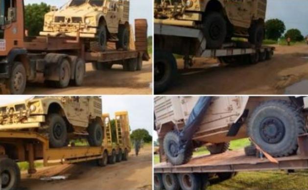mei - Army Intercepts Strange Military Equipment In Adamawa
