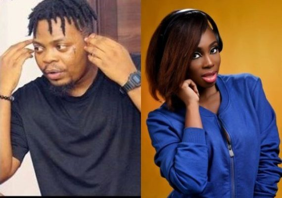 Olamide and OAP Maria Okan