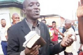 The suspect, Pastor Akinjide Durojaiye