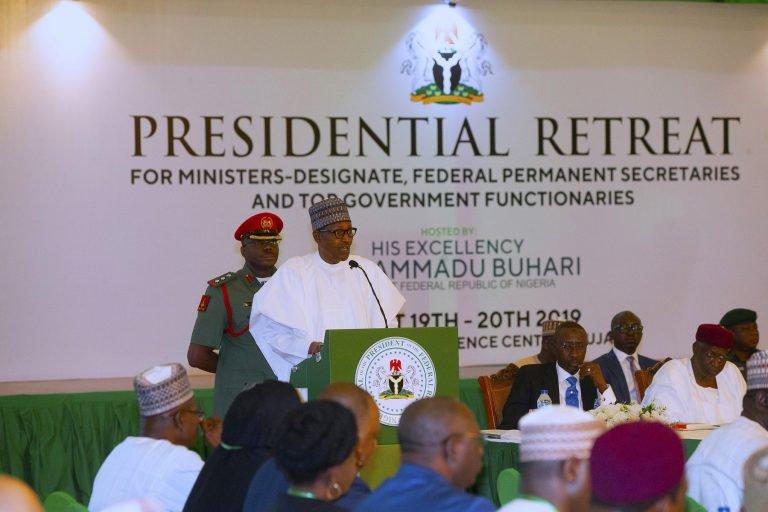 pre - Buhari Assigns Portfolios To Aregbesola, Keyamo, Akpabio, Others