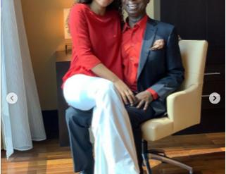 regina daniels and husband, Ned Nwoko
