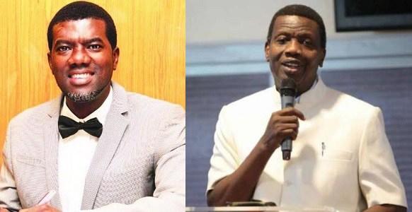 Reno Omokri and Pastor Adeboye
