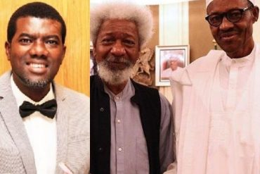 Reno Omokri Shares Video Of Himself Dancing As He Mocks Wole Soyinka