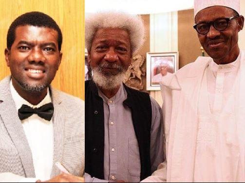 Reno Omokri, Wole Soyinka and President Buhar