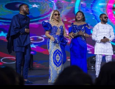 sau 1 - Tonto Dikeh, Regina Daniels, Wale Jana, Others Attend COZA For Thanksgiving