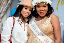 Toke Makinwa and Toyin Abraham