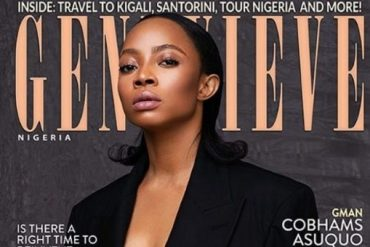 Toke Makinwa Goes Braless As She Covers Latest Edition Of Genevieve Magazine