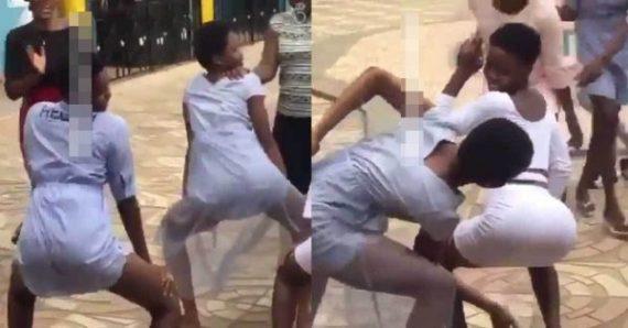 Students Twerking