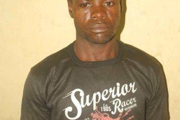The suspect, Nura Abdullahi,