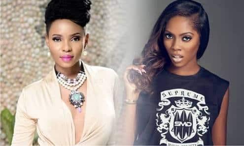 10170472 yemialadeandtiwasavage jpegd8ef27b095821501197b3459a4205299 - Tiwa Savage Goes Against All Odds, Brings Yemi Alade On Stage With Her (Video)