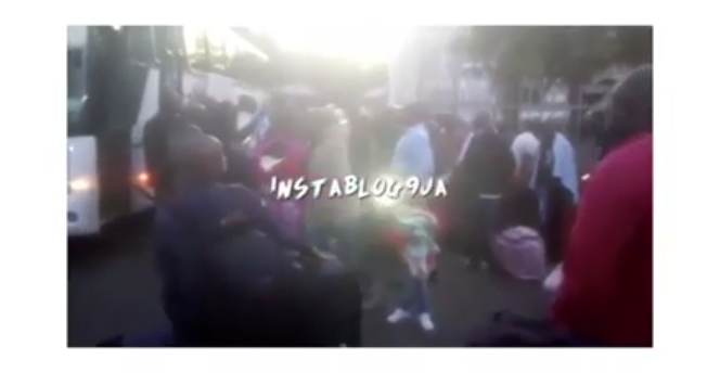 [BREAKING] Xenophobia: 187 Nigerians arrive Lagos from South Africa