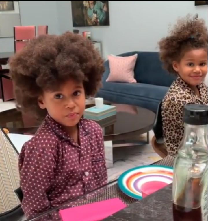 Mikel Obi's daughters