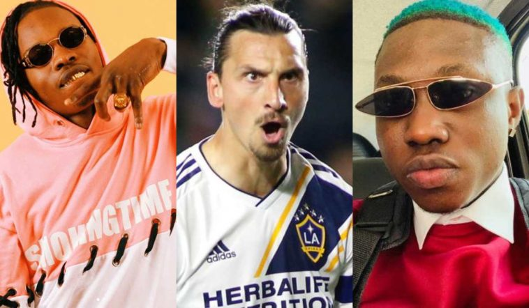 Naira Marley Knocks Ibrahimovic For Saying There Is Only One Zlatan