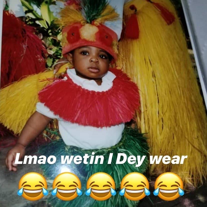 Davido as a baby