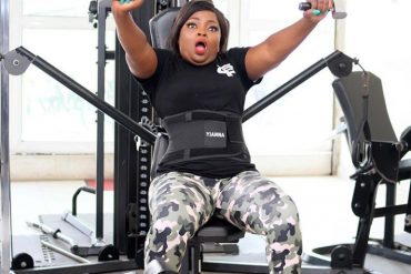 Actress Funke Akindele's New Gym Photos Will Make You Laugh