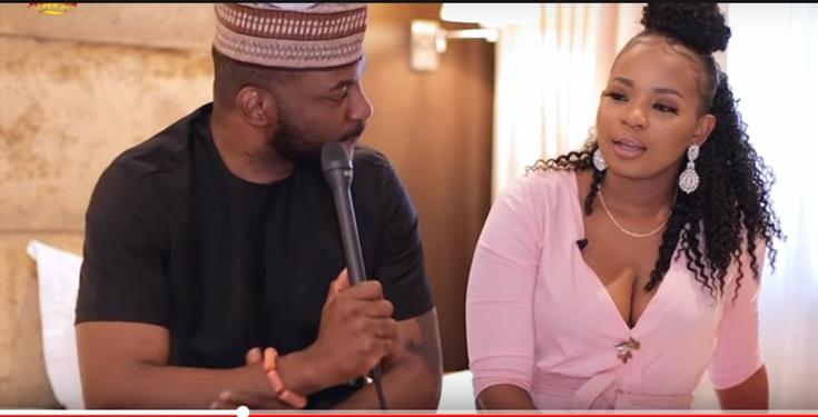 Ebuka Obi Uchendu and Cindy
