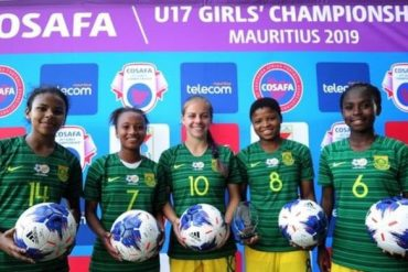 South Africa's National Team Women Whoop Seychelles 28-0