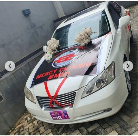 Mercy Chinwo Car