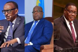 Paul Kagam, Felix Tshisekedi, Peter Mutharika,