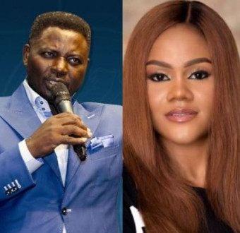 Mattew Ashimolowo and Busola Dakolo