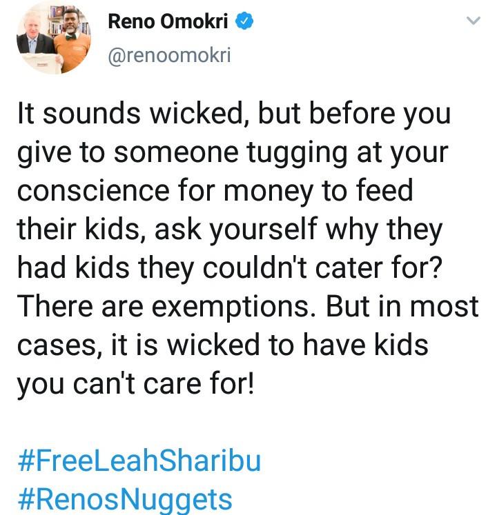 Reno Tweet