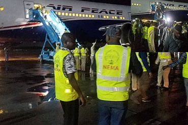 Xenophobia: Second Batch Of Nigerians Evacuated From South Africa Arrive Lagos