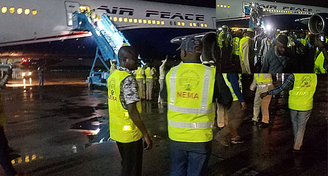 Nigerians evacuated