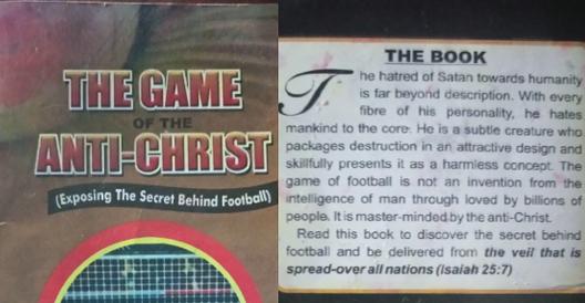 The book which demonizes football