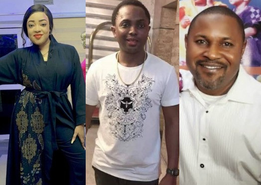Tayo Sobola, the alleged suspect, and Saheed Balogun