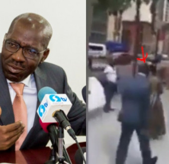 Obaseki at UNGA, New York