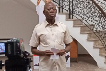 Oshiomhole Reacts To Attack On His Residence In Edo