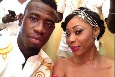 Afriyie Acquah and ex-wife, Amanda