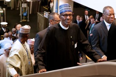 [Photos] Buhari Arrives New York For 74th UNGA