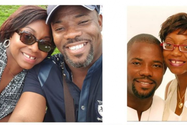 Okey Bakassi and Wife Ezinne