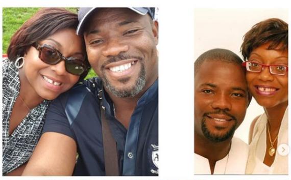 Okey Bakassi and Wife Ezinne