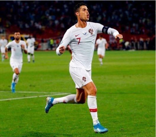 Capture 32 - Cristiano Ronaldo Nets Four Goals As Portugal Beats Lithuania In Euro 2020 Qualifier