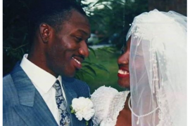 Kayode Fayemi and wife, Bisi