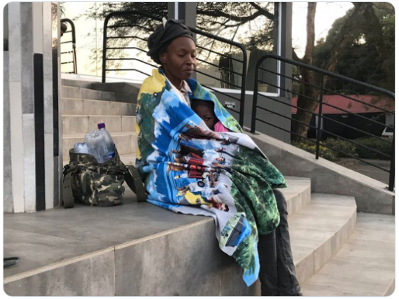 Nigerian Mom In South Africa