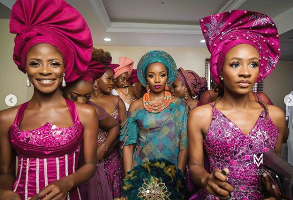 Capture 48 - BamBam Shares More Photos From Her Wedding Ceremony In Ogun